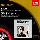 Bach: Violin Concertos, etc / Menuhin, Enescu, Monteux, et al