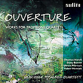 Overtures - Bach, Rossini, et al / M&uuml;nchner Posaunen Quartet