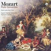 Mozart: Flute Concerto no 1 & 2 / Peter-Lukas Graf, Raymond Leppard, English Chamber Orchestra