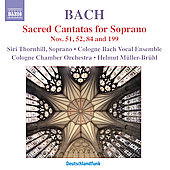 J.S. Bach: Sacred Cantatas for Soprano