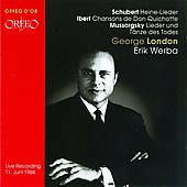George London: Recital
