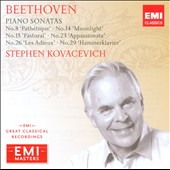 EMI Masters - Beethoven: Popular Piano Sonatas / Kovacevich