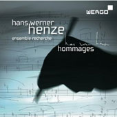 Hans Werner Henze: Hommages