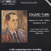 Tubin: Symphony no 10, Requiem / Järvi, Gothenburg SO