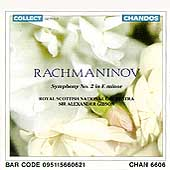 Rachmaninov: Symphony No. 2 / Sir Alexander Gibson, Scottish