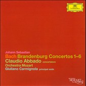 Bach: Brandenburg Concertos 1-6 / Abbado