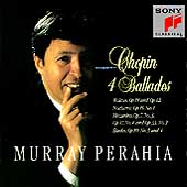 Chopin: 4 Ballades, etc / Murray Perahia