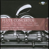 C.P.E. Bach, Benda, Chopin, Danzi: Flute Concertos