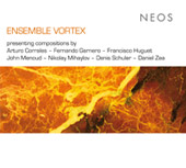 Compositions by Arturo Corrales, Fernando Garnero, Francisco Huguet / Ensemble Vortex