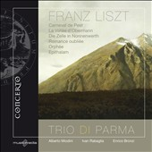 Franz Liszt: Carneval de Pest; La Vall&eacute;e d'Obermann; Epithalam, et al. / Trio di Parma
