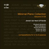 Minimal Piano Collection Volumes 10-20 / Jeroen van Veen & Friends