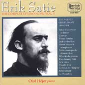 Satie: Complete Piano Music Vol 3 / Olof Hojer