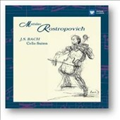 Bach: Suites for solo cello nos. 1-6 / Mstislav Rostropovich, cello