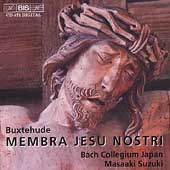 Buxtehude: Membra Jesu nostri / Masaaki Suzuki, et al