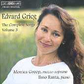 Grieg: Complete Songs Vol 3 / Monica Groop, Ilmo Ranta