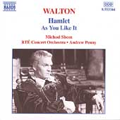 Walton: Hamlet, As You Like It / Sheen, Penny, Dublin RTE