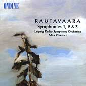Rautavaara: Symphonies no 1-3 / Pommer, Leipzig Radio SO