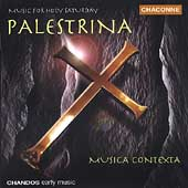 Palestrina: Music for a Holy Saturday / Musica Contexta