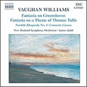 Vaughan Williams: Fantasia on Greensleeves, etc / Judd, etc