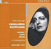 Historical - Mascagni: Cavalleria Rusticana / Sawallisch