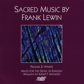 Frank Lewin: Sacred Music / Janizky, Brooks, et al