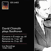 David Oistrakh plays Beethoven / Abendroth, Kondrashin