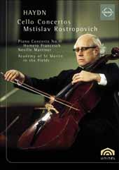 Haydn: Haydn Cello Concertos / Mstislav Rostropovich / Academy of St Martin in the Fields [DVD]