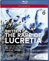 Britten: The Rape of Lucretia / Sarah Connolly, Christopher Maltman, Jaohn Mark Ainsley, Orla Boylan, Catherine Wyn-Rogers [Blu-Ray]