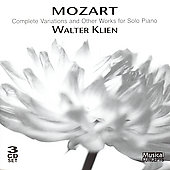 Mozart: Complete Variations for Piano, etc / Walter Klien