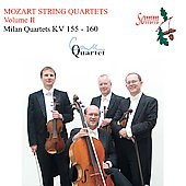Mozart String Quartets Vol 2 / Coull Quartet