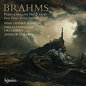 Brahms: Piano Concerto no 2, etc / Litton, Hamelin, et al