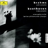 Beethoven: Triple Concerto Op. 56/Brahams: Violin Concerto