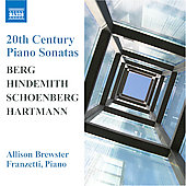 20th Century Piano Sonatas - Berg, Schoenberg, etc