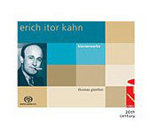 Kahn: Piano Works / Thomas Gunther
