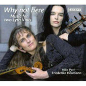 Why Not Here - Music for Two Viols - Ford, Ferrabosco, etc / Perl, Heumann, Santata, Freimuth