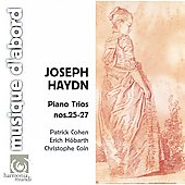 Haydn: Piano Trios no 25-27 / Cohen, Höbarth, Coin