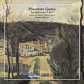 Gouvy: Symphonies no 3 and 5 / Mercier, et al