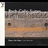 Bach: Cello Suites 1-3