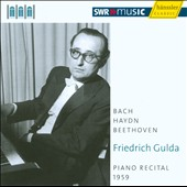Friedrich Golda: Piano Recital 1959
