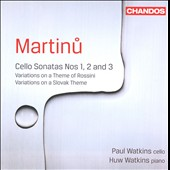 Martinu: Cello Sonatas Nos. 1, 2 & 3 / Paul Watkins