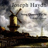 Joseph Haydn: String Quartets Op. 54