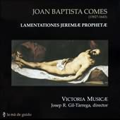 Joan Baptista Comes: Lamentationes Jeremiae Prophetae