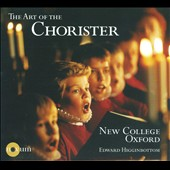 The Art of the Chorister: works by Alain, Bach, Couperin, Hewstone and Jenkinson