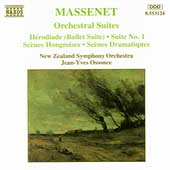 Massenet: Orchestral Suites 1-3 / Ossonce, New Zealand SO