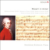 Mozart in Minor / Konstanze Eickhorst, piano