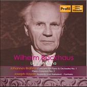 Wilhelm Backhaus Live in Vienna: Brahms Piano Concertos nos 1 & 2; Haydn: Sonata