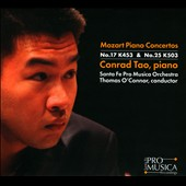 Mozart: Piano Concertos No. 17 K453 & No. 25 K503