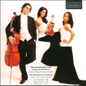 Beethoven: Piano Trio in E-flat, Op. 70, No. 2; Mendelssohn: Piano Trio in C minor, Op. 66 / Yoko Misumi, Lana Trotovsek and Stjepan Hauser