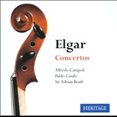 Elgar: Violin Concerto, Op. 61; Cello Concerto, Op. 85 / Alfredo Campoli, violin; Pablo Casals, cello