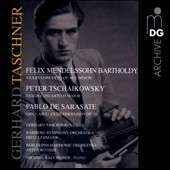 Tchaikovsky: Violin Concerto; Mendelssohn: Violin Concerto; Sarasate: Gypsy Tunes / Gerhard Tascher, violin